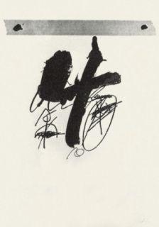 Litografía Tàpies - Llambrec-15