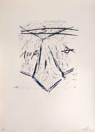 Litografía Tàpies - Llambrec 12