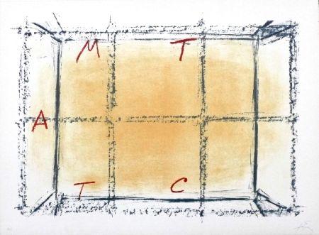 Litografía Tàpies - Llambrec 18