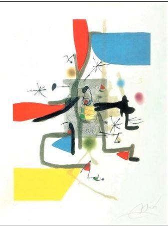 Aguafuerte Y Aguatinta Miró - Llibre Dels Sis Sentits I