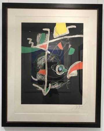 Aguafuerte Y Aguatinta Miró - L'Libre dels Sis Sentits VI (Book of the Six Senses)