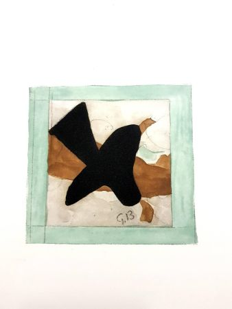 Litografía Braque - L'oiseau