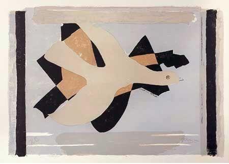 Litografía Braque - L'oiseau Est Son Nombre