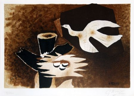 Litografía Braque - L'oiseau et son nid (The Bird and Its Nest)
