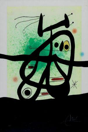 Aguafuerte Y Aguatinta Miró - L'Oiseau Mongol