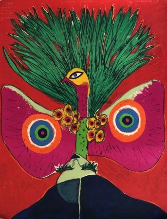 Litografía Corneille - L'oiseau papillon