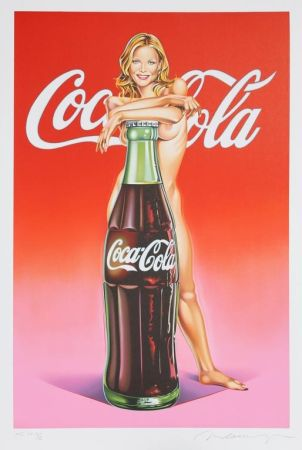 Litografía Ramos - Lola Cola (Michelle Pfeiffer)