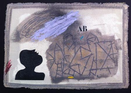 Grabado Coignard - L'ombre bleue