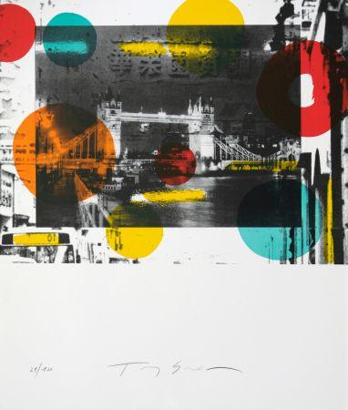 Litografía Soulie - London