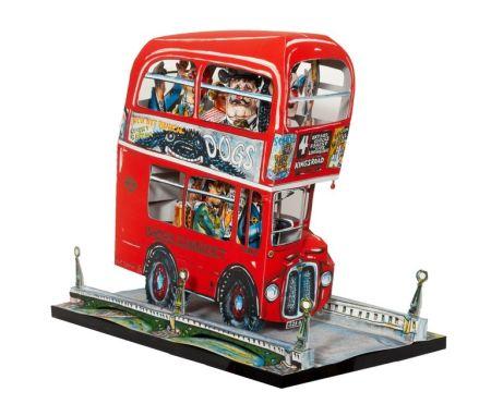 Litografía Grooms - London Bus