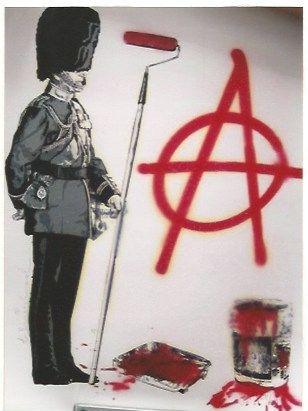 Serigrafía Mr. Brainwash - LONDON show Anarchy