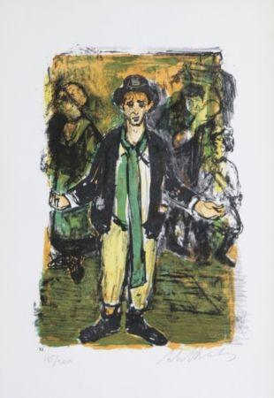 Litografía Blatas - L'opera des Guaux, The Beggers Opera plate XI
