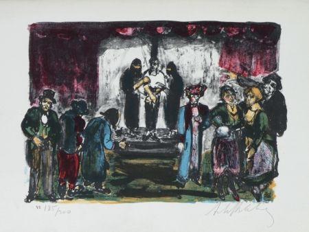 Litografía Blatas - L'opera Des Gueux The Beggers Opera plate no. VI