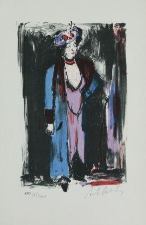 Litografía Blatas - L'Opera Des Gueux The Beggers Opera plate no.XVII