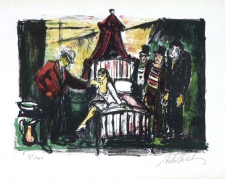 Litografía Blatas - L'Opera Des Gueux, The Beggers Opera Plate V