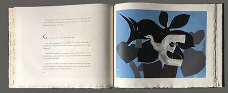 Libro Ilustrado Braque - L'ordre Des Oiseaux