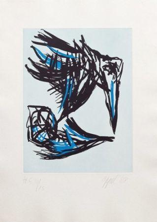 Aguatinta Appel - Los Pájaros