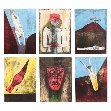 Litografía Tamayo - Los Signos Existen