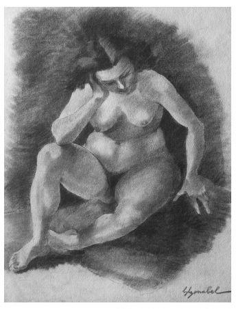 Litografía Bonabel - Louis-Ferdinand Céline - Litographie Originale / Original Lithograph - 1938