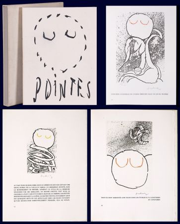 Libro Ilustrado Alechinsky - Louis Scutenaire et Pierre ALechinsky : POINTES (17 gravures monogrammées) 1972.