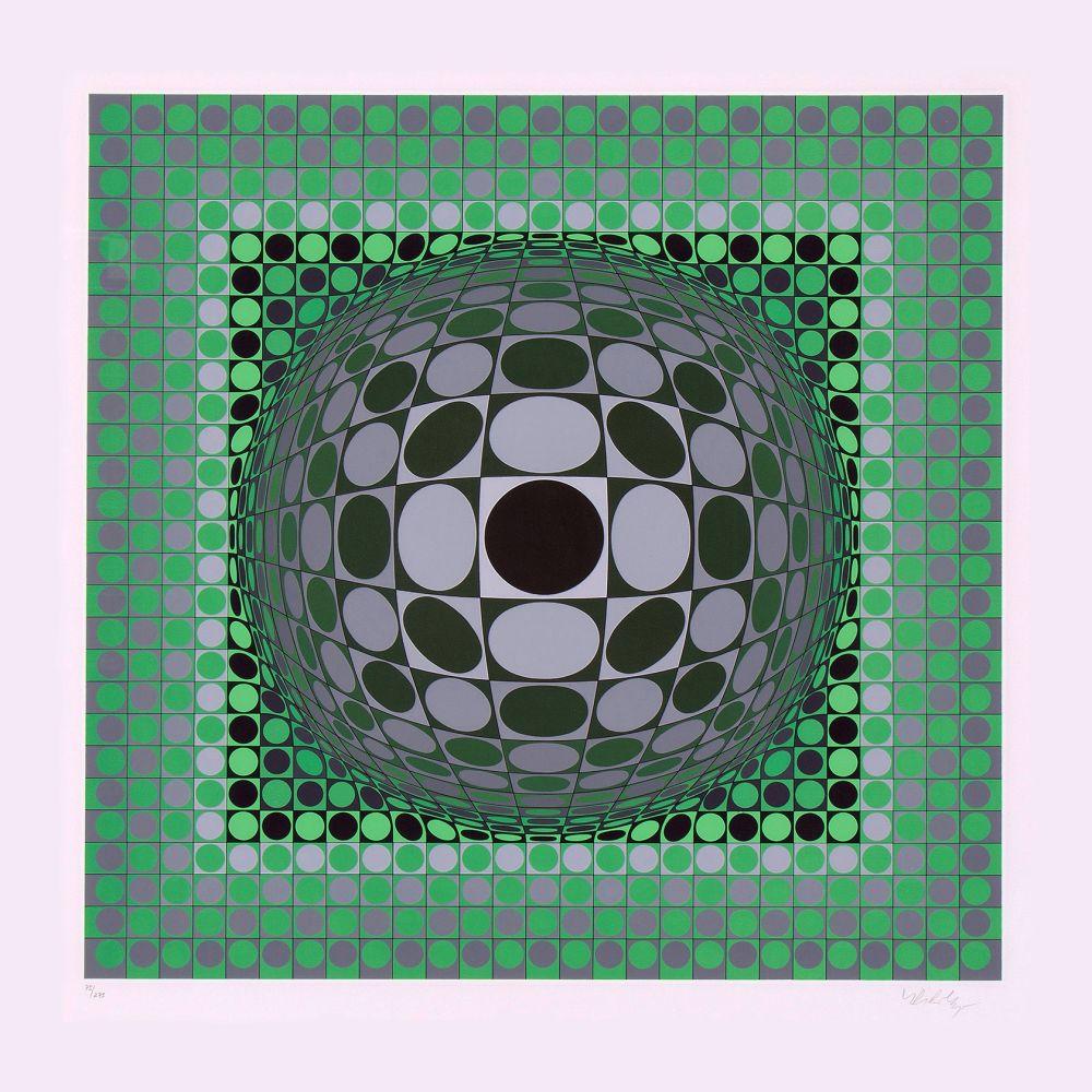 Serigrafía Vasarely - Louisiana II
