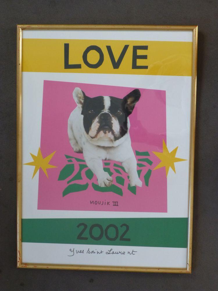 Cartel Saint Laurent - Love 2002