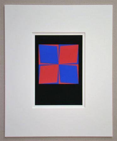 Serigrafía Vasarely - Lozan, 1964