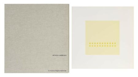 Serigrafía Calderara - Luce spazio immagine (Cartella di 8 serigrafie)