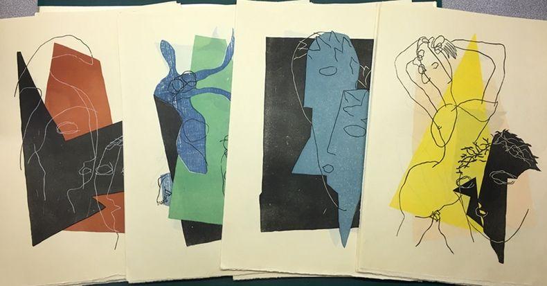 Libro Ilustrado Laurens - Lucien de Samosate - DIALOGUES (Tériade 1951)
