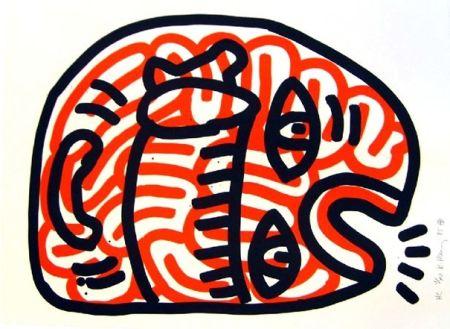 Litografía Haring - Ludo 2