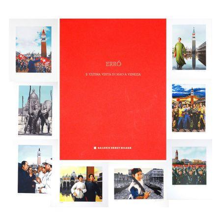 Litografía Erro - L'ultima visita di  Mao a Venezia - complete portfolio
