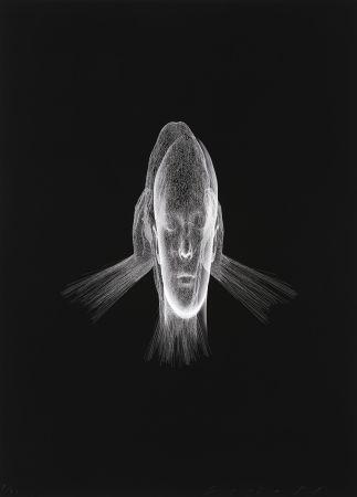 Estampa Numérica Plensa - Lumière invisible (Sanna)