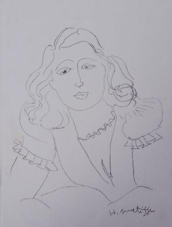 Grabado Matisse - Lydia