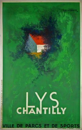 Litografía Cassandre - Lys Chantilly