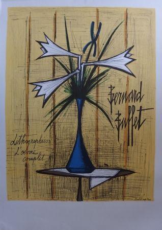 Litografía Buffet - Lys et Iris