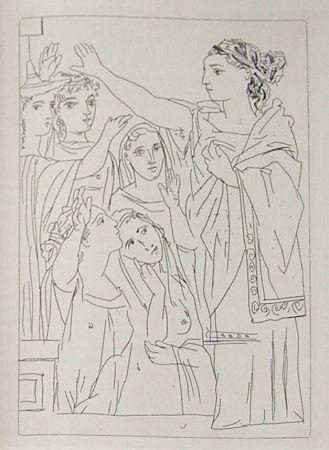 Grabado Picasso - Lysistrata By Aristophanes (Signed Book)