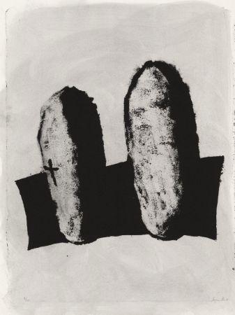 Litografía Le Groumellec - Mégalithes