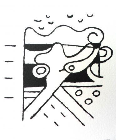 Litografía Bille - M 111
