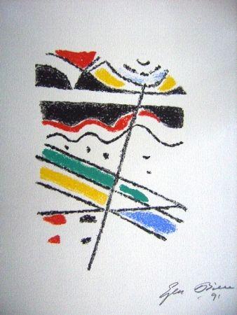 Litografía Bille - M 113