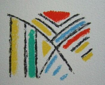 Litografía Bille - M 92
