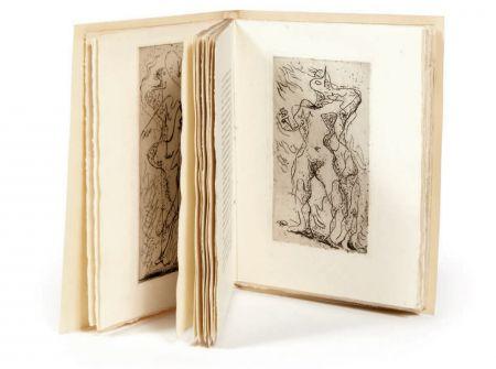 Libro Ilustrado Masson - M. Jouhandeau : XIMENÈS MALINJOUDE. Illustré d'eaux-fortes par André Masson (1927).