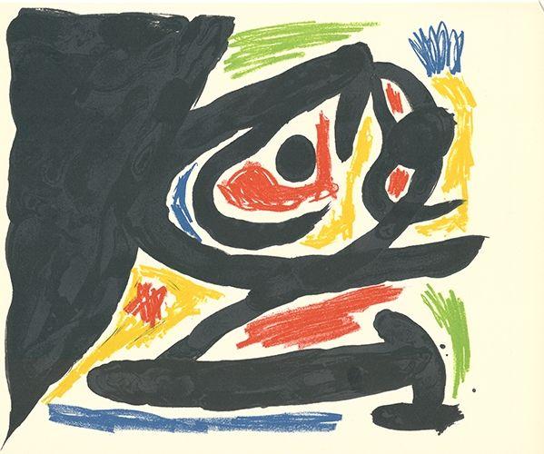 Litografía Miró - Maîtres-Graveurs Contemporains