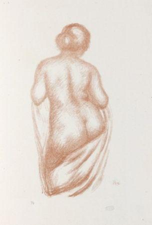 Litografía Maillol - Maîtres et petits maîtres d'aujourd'hui.  Aristide Maillol, Sculpteur et Lithographe.