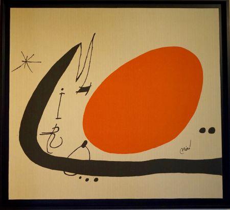 Litografía Miró - Ma de Proverbis