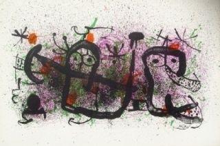Litografía Miró - Ma de Proverbis 2