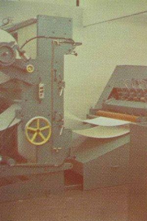 Litografía Jacquet - Machine à imprimer