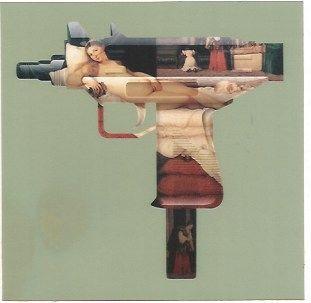 Serigrafía Gjoen - Machine Gun Venus