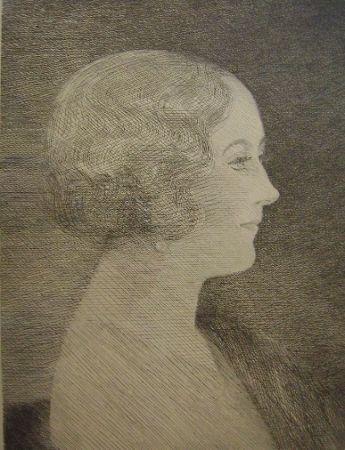 Grabado Marcoussis - Madame Marcel M. Markous
