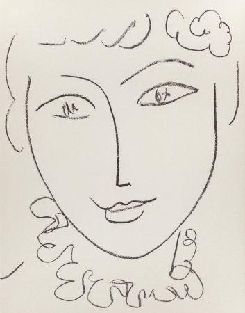 Litografía Matisse - Madame Pompadour