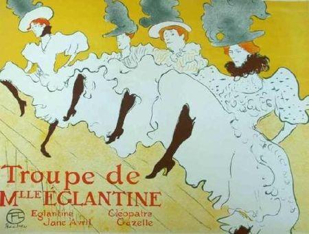 Litografía Toulouse-Lautrec - Mademoiselle Eglantine